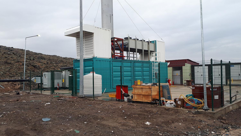 Depo gazından enerji elde etme projesi